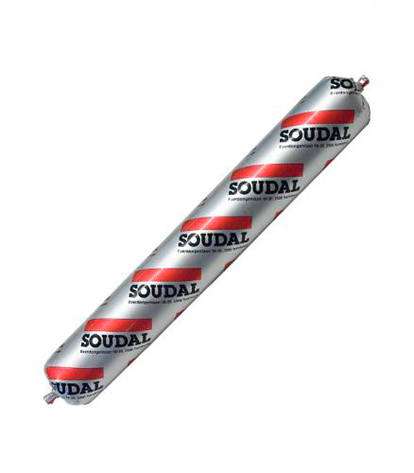Герметик полиуретановый Soudaflex 40 FC 600 мл чёрный монтажная пена soudal соудал 750ml профи
