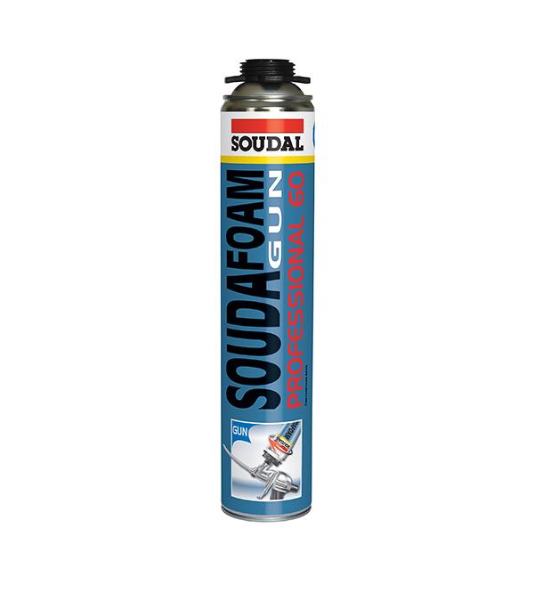 Пена монтажная Soudal Professional 60 профессиональная 750 мл пена монтажная makroflex 500мл