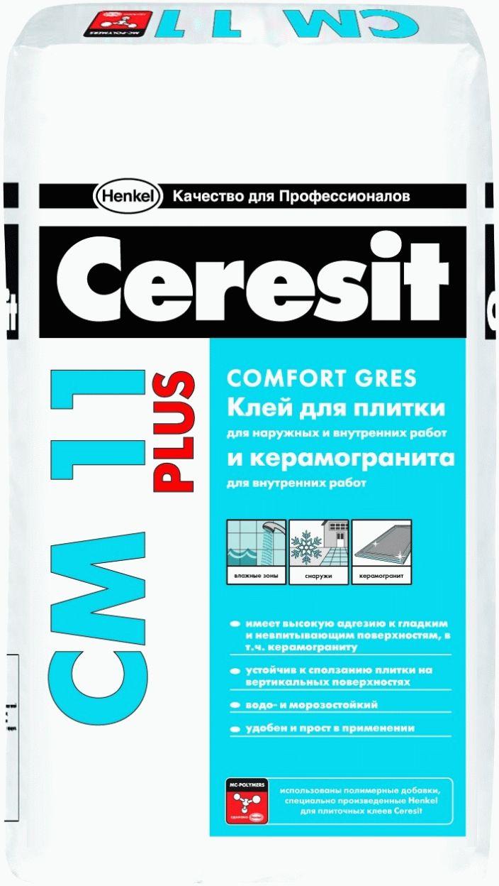 Церезит СМ 11 Plus (клей для плитки), 25кг