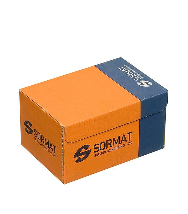 Анкер-шуруп для легкого бетона c полукруглой головкой Sormat 8х65 KBRM P (100 шт)  упаковка 30 шт анкеров sormat kla нейлоновых шуруп