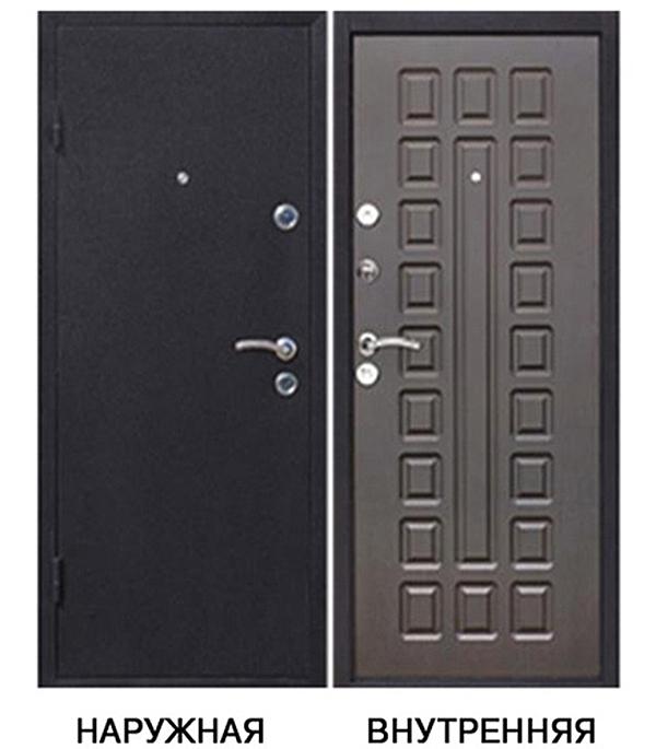 Дверь металлическая   Йошкар 960x2050 мм левая