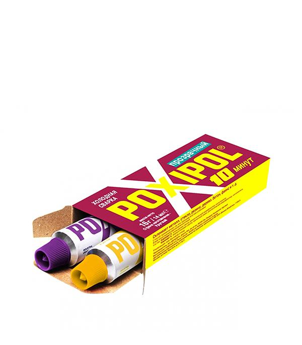 Эпоксидный клей Поксипол прозрачный 14 мл