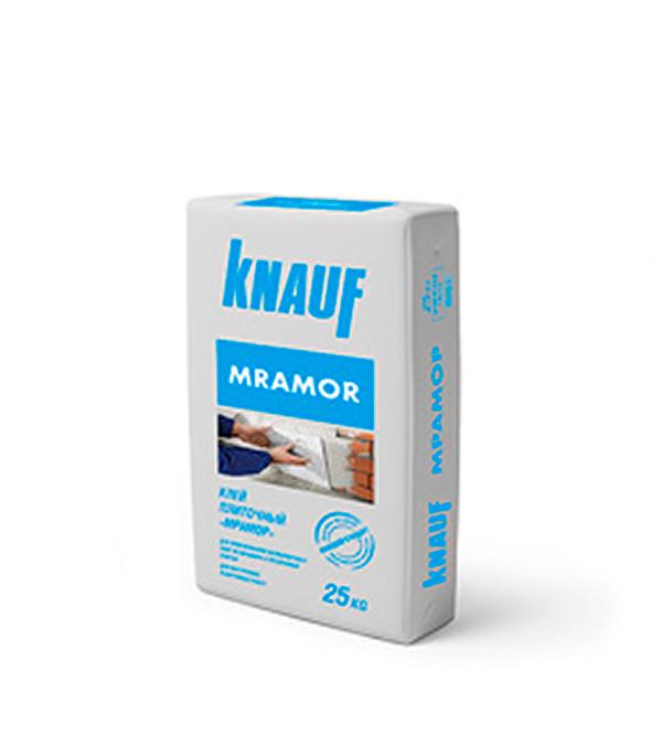 Мрамор Кнауф (белый клей для мрамора и прозр.плитки), 25 кг