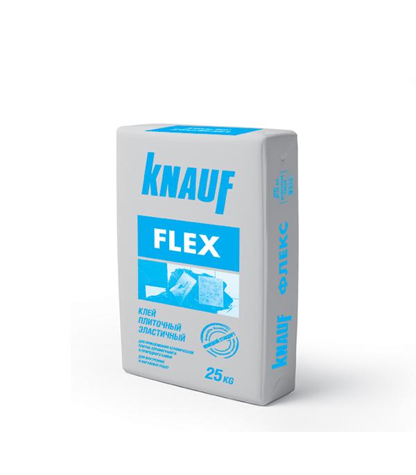 Клей для плитки Knauf Флекс 25 кг эластичный гкл knauf 2500х1200х12 5мм
