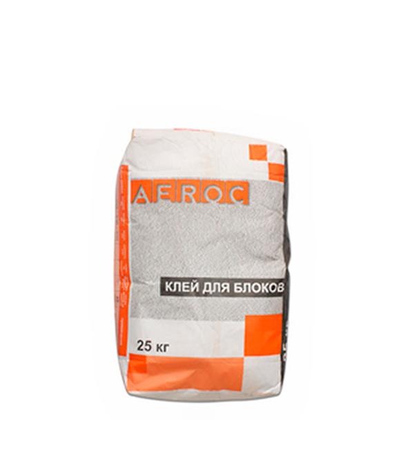 Аэрок ГБ (клей для газобетона),  25 кг