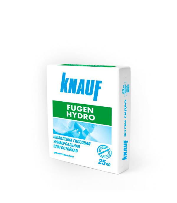 Шпаклевка гипсовая Knauf Фуген Гидро 25 кг  гкл knauf 3000х1200х12 5мм