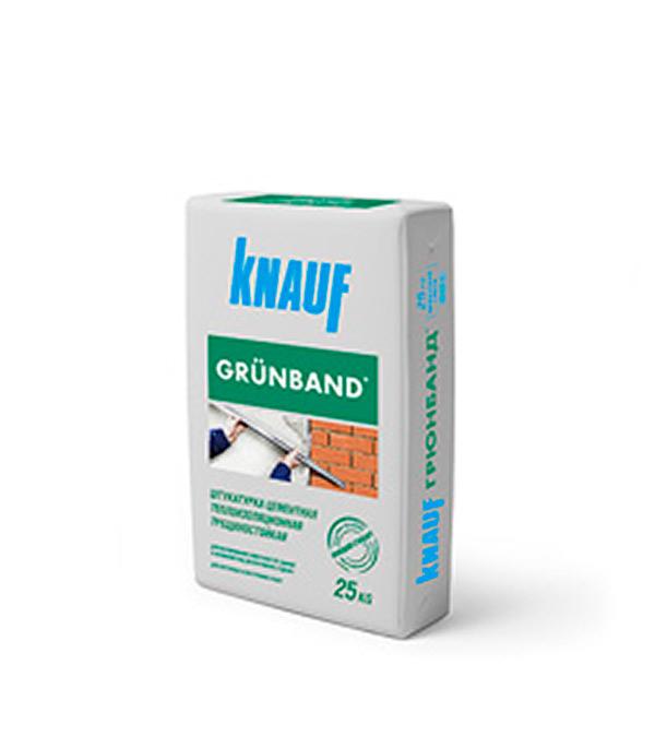 Штукатурка цементная теплоизоляционная Knauf Грюнбанд 25 кг штукатурка knauf унтерпутц цементная фасадная 25кг