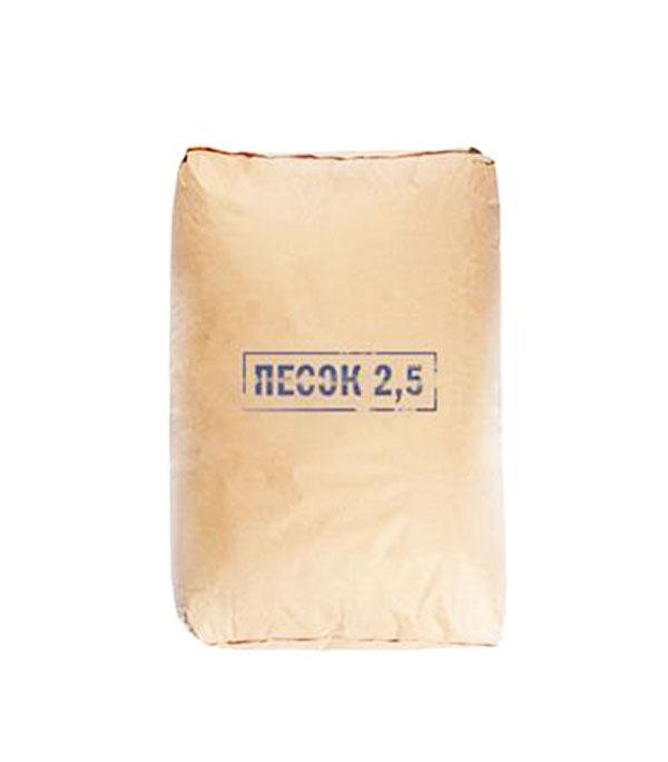 Песок сухой фр. 0-2,5 мм Петролит, 25 кг