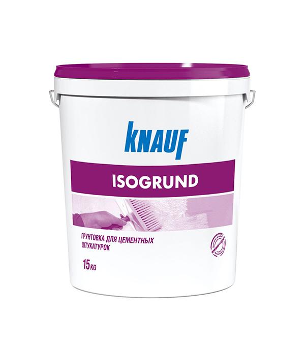 Грунт под декоративную штукатурку Изогрунд Кнауф 15 кг