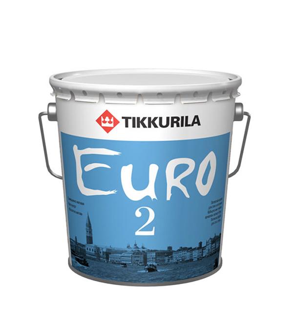 Краска в/д Euro 2 основа VVA глубокоматовая Тиккурила 18 л
