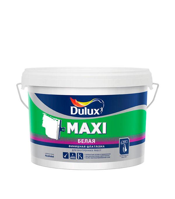 Шпаклевка финишная Dulux Maxi 2.5 л шпатлевка финишная maxi dulux 10 л