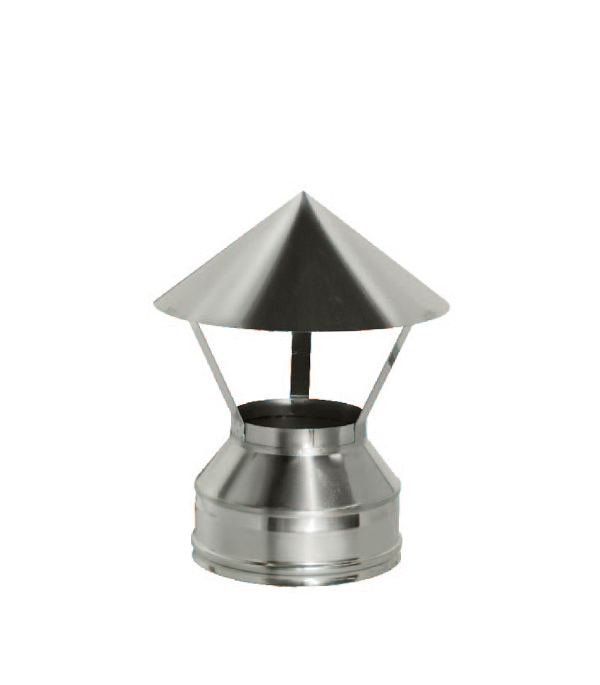 Зонт Дымок на трубу с изоляцией 120x200