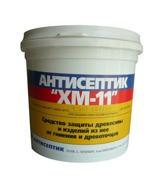 Антисептик ХМ-11 биозащита сухая смесь 2,5 кг