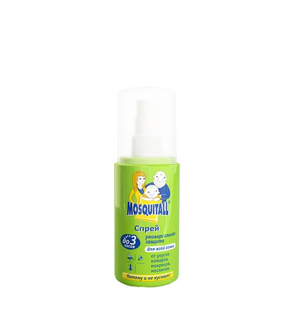 Спрей от комаров Москитол универсальная защита 100 мл москитол защита для взрослых от комаров аэрозоль 100мл