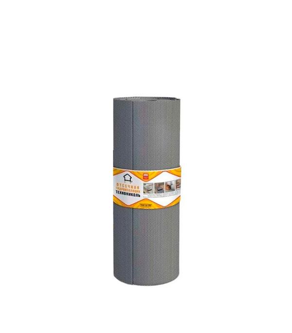 Отсечная гидроизоляция Технониколь 0.1 мм 20х0.2 м гидроизоляция фундамента технониколь