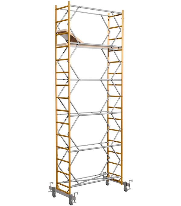 Вышка-тура 7.4 м рабочая высота 8.4 м стальная
