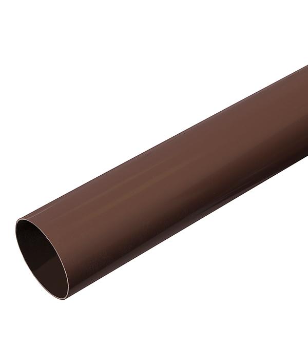 Труба водосточная пластиковая d90 мм коричневая (кофе) 3м VINYL-ON