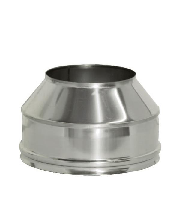 Конус Дымок на трубу с изоляцией 150x230 отвод дымок 45° с изоляцией 150x230