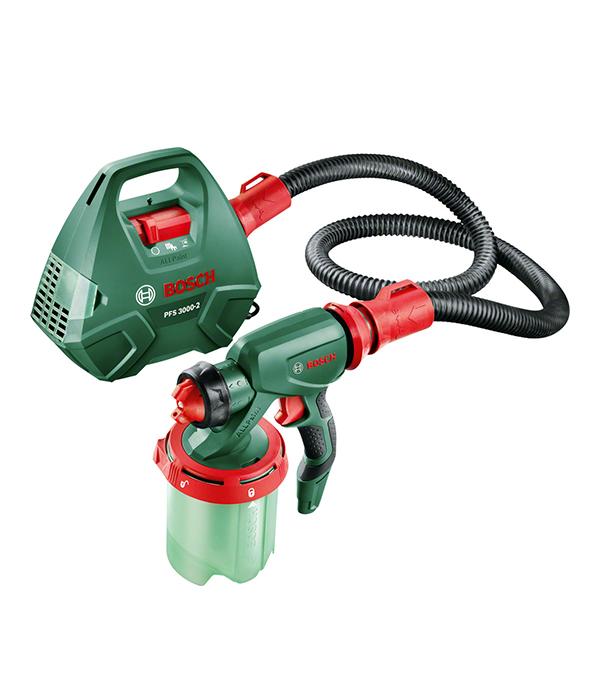 Краскораспылитель (краскопульт) PFS 3000-2, 650 Вт, 1 л, 0-300 г/мин Bosch