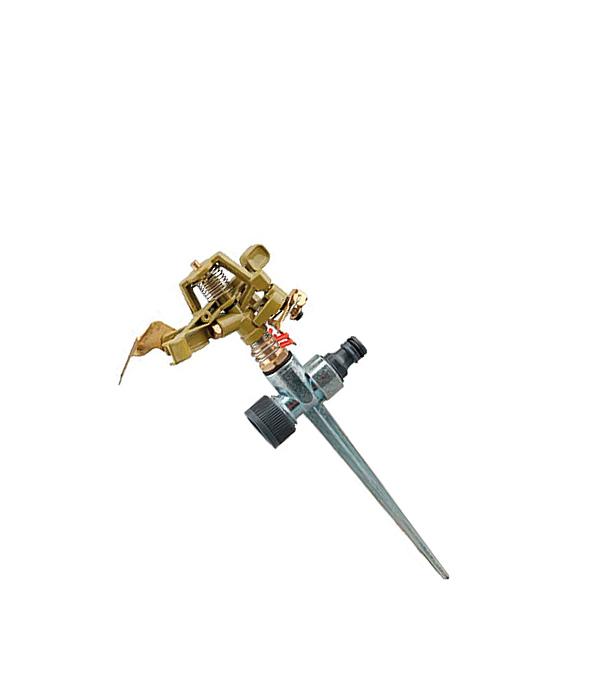 Разбрызгиватель импульсный металлический на пике распылитель импульсный fit на пике 285 мм 77347