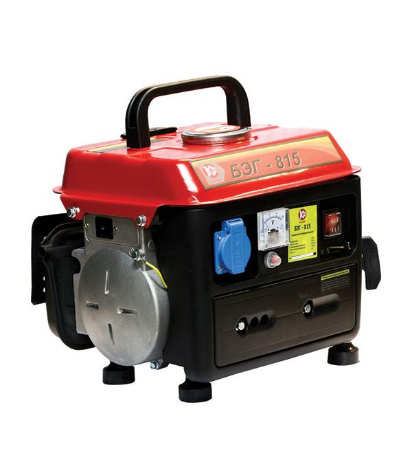 Генератор бензиновый Калибр БЭГ- 815 бензогенератор инверторный калибр бэг 7100аи