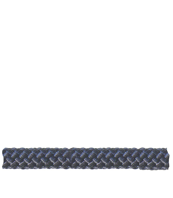 Шнур плетеный черный d6 мм полипропиленовый, повышенной плотности