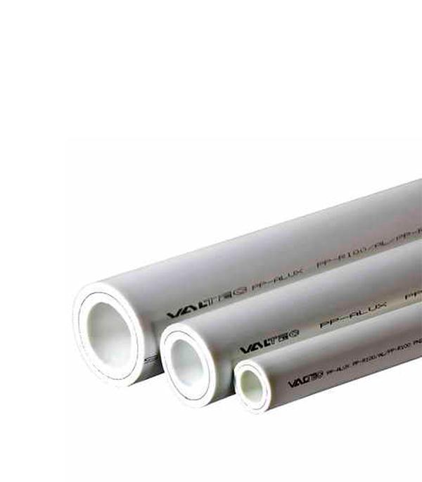 Труба полипропиленовая армированная алюминием Valtec 32х2000 мм PN 25  труба полипропиленовая армированная стекловолокном 32х2000 мм pn 25