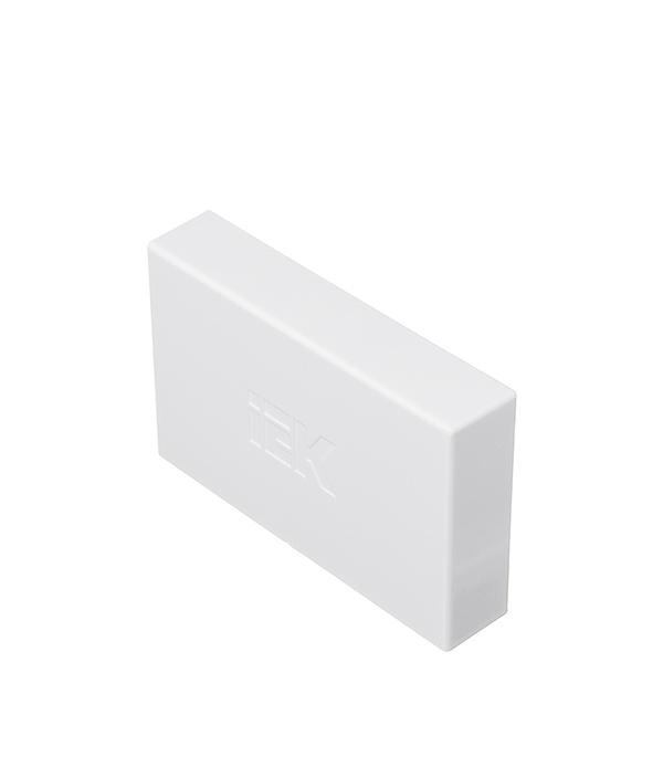 Заглушка для кабель-канала 100х60 мм белая (2 шт.)