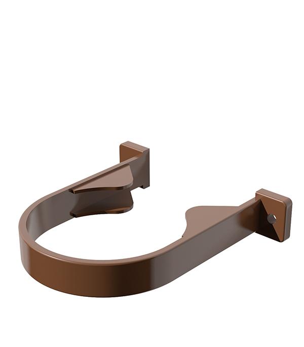 Хомут трубы пластиковый коричневый Технониколь