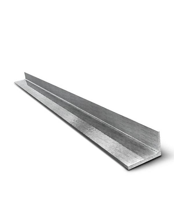 Угол алюминиевый 25x25x2x 1000 мм  анодированный