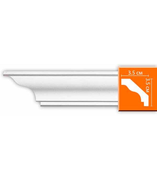 Плинтус из полиуретана Decomaster 35х35х2400 мм decomaster багет decomaster 808 552 размер 61х26х2900мм