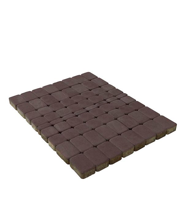 Плитка тротуарная Классико 57/115/172х115х60 мм коричневая (13,44 м.кв.), БРАЕР щебень известняковый в калуге