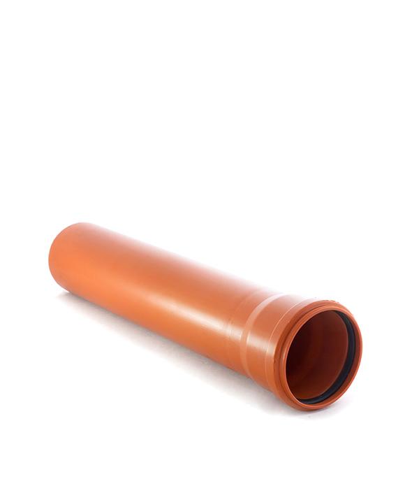 Труба канализационная наружная 110х2000 мм муфта труба труба d 16 gig