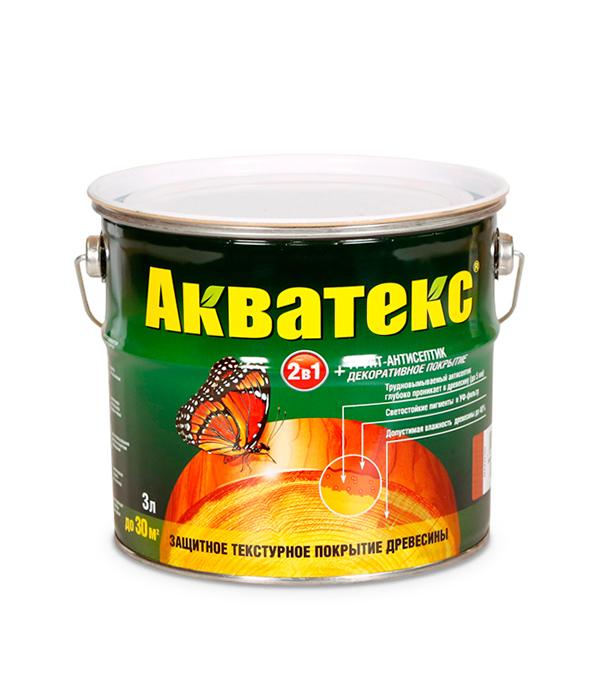 Антисептик Рогнеда Акватекс бесцветный 3 л антисептик для обработки древесины