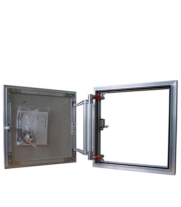 Люк ревизионный под плитку EuroFORMAT-R Практика 300х300 мм алюминиевый люк ревизионный 300х400 мм решетчатый пластиковый декофот
