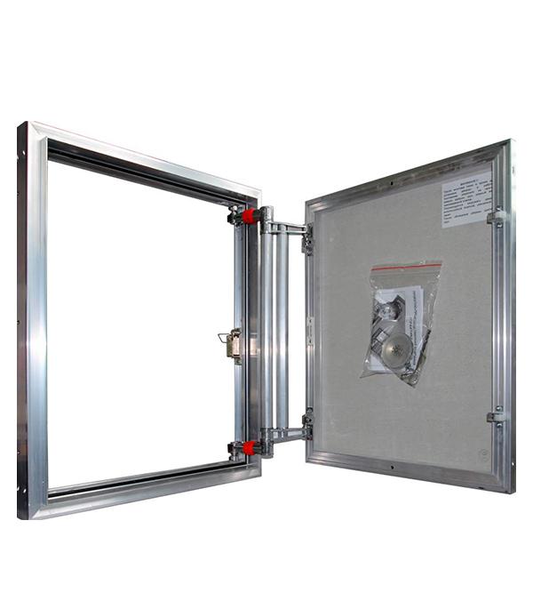 Люк ревизионный 500х700 мм под плитку алюминиевый EuroFORMAT-R Практика