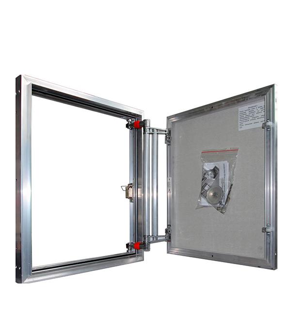 Люк ревизионный 600х1000 мм под плитку алюминиевый EuroFORMAT-R Практика