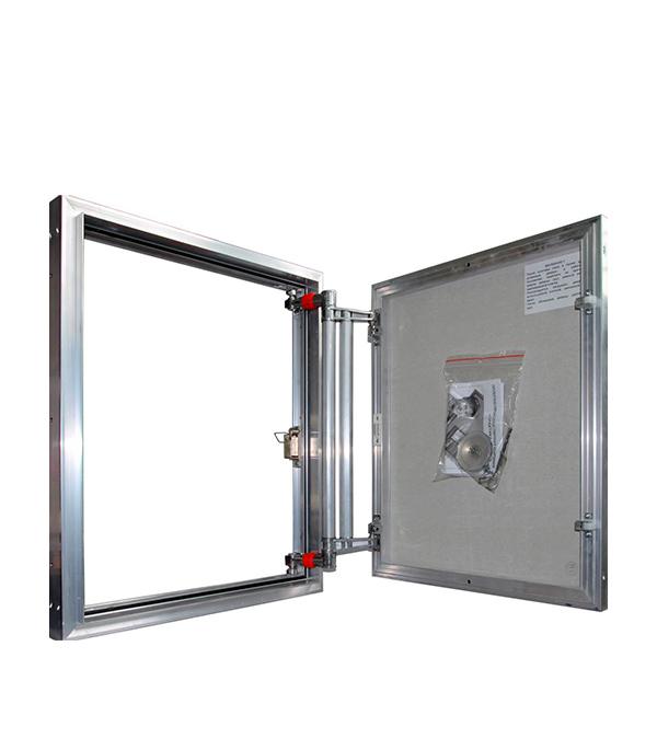 Люк ревизионный 600х1200 мм под плитку алюминиевый EuroFORMAT-R Практика