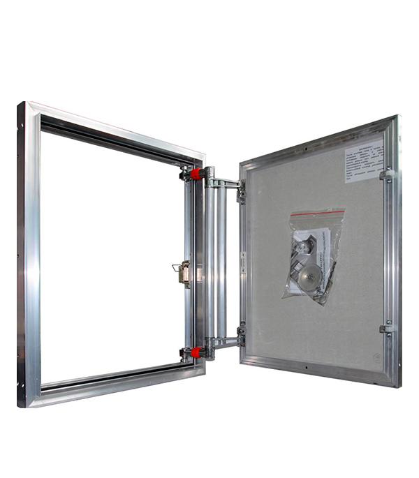 Люк ревизионный 600х 900 мм под плитку алюминиевый EuroFORMAT-R Практика