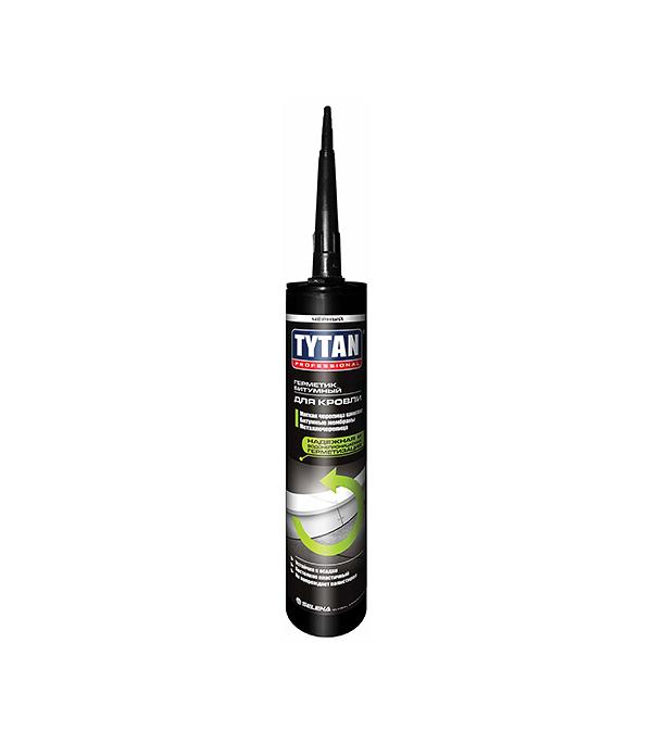 Герметик кровельный Tytan Professional 310 мл черный герметик кровельный tytan professional 310 мл прозрачный