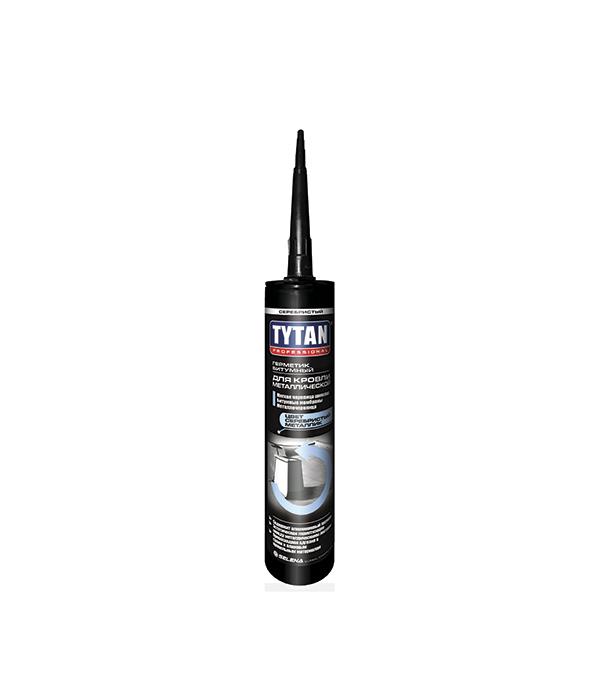 Герметик кровельный по металлу Tytan Professional 310 мл серебристый герметик кровельный tytan professional 310 мл прозрачный