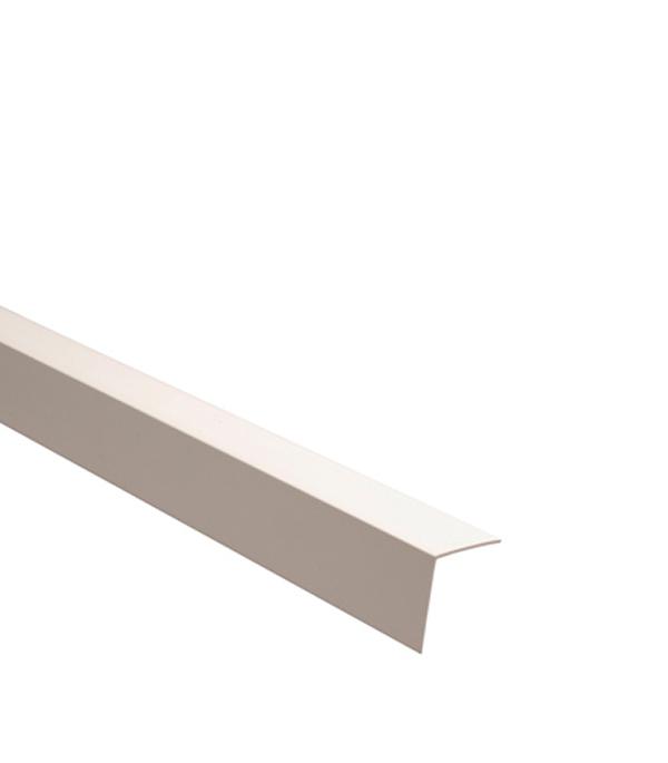 Уголок отделочный  пластиковый  10х10х2700 мм белый