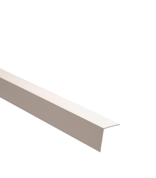 Уголок отделочный  пластиковый  15х15х2700 мм белый
