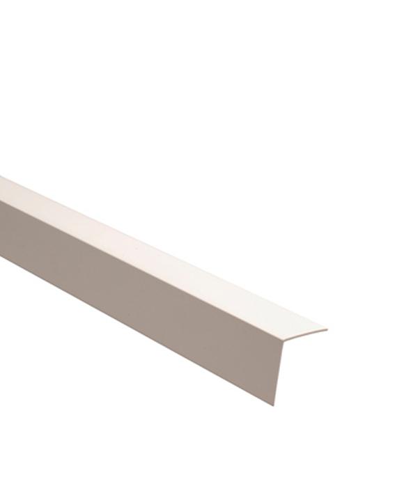 Уголок отделочный пластиковый 20х20х2700 мм белый
