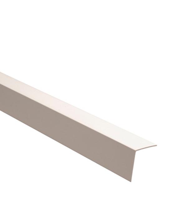 Уголок отделочный пластиковый 25х25х2700 мм белый