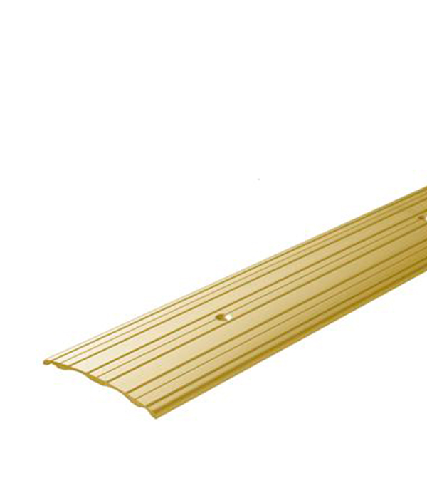 Порог А60 стыкоперекрывающий 60х1800 мм золото