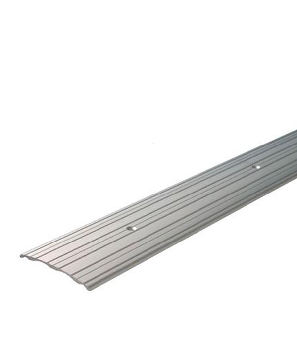 Порог А60 стыкоперекрывающий 60х1800 мм серебро