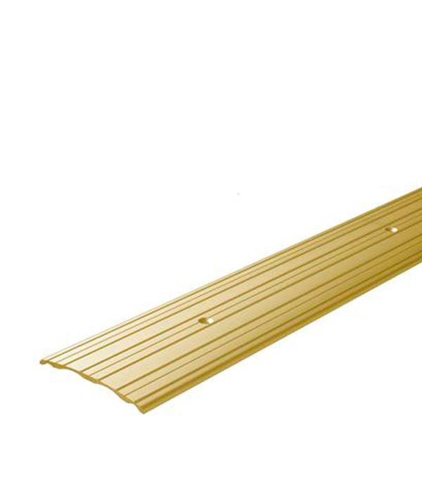 Порог А60 стыкоперекрывающий 60х900 мм золото