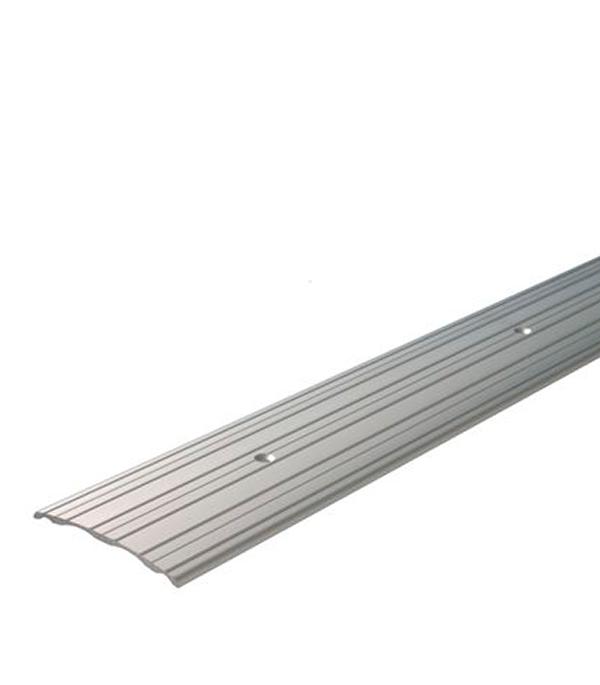 Порог А60 стыкоперекрывающий 60х900 мм серебро