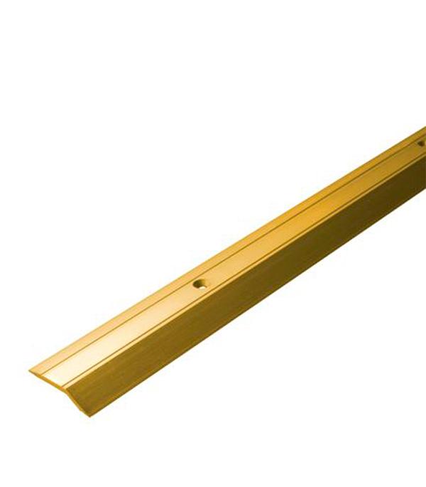 Порог С1 разноуровневый 32х1800 мм перепад до 3,2 мм золото